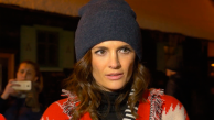 Entrevista completa de Stana Katic na chegada ao Kustendorf Film & Music Festival