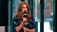 Stana Katic no BUILD Series NYC