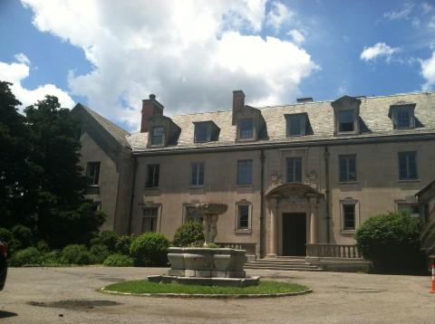 Alder Manor, uma antiga mansão em ruínas em Yonkers