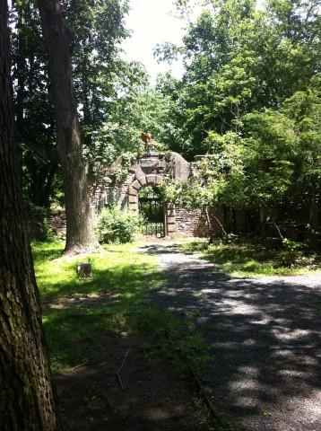 Jardim em torno da Alder Manor