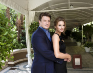 Stana Katic, Nathan Fillion - Interview