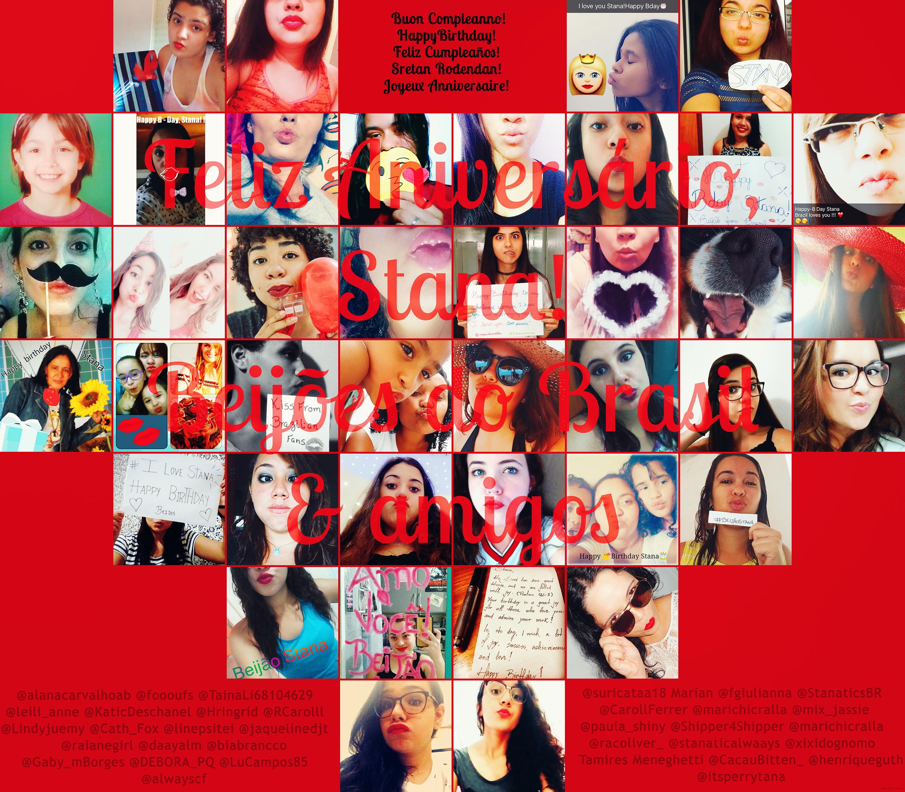 Projeto de Aniversário de Stana Katic - 2016
